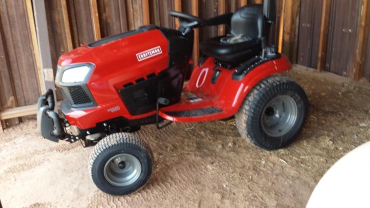 The Garden Tractor