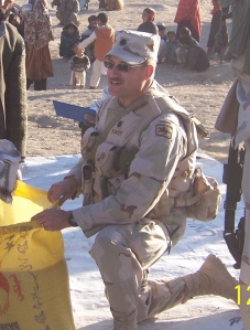 Giving rice to refuges Afghanistan Oct 2005